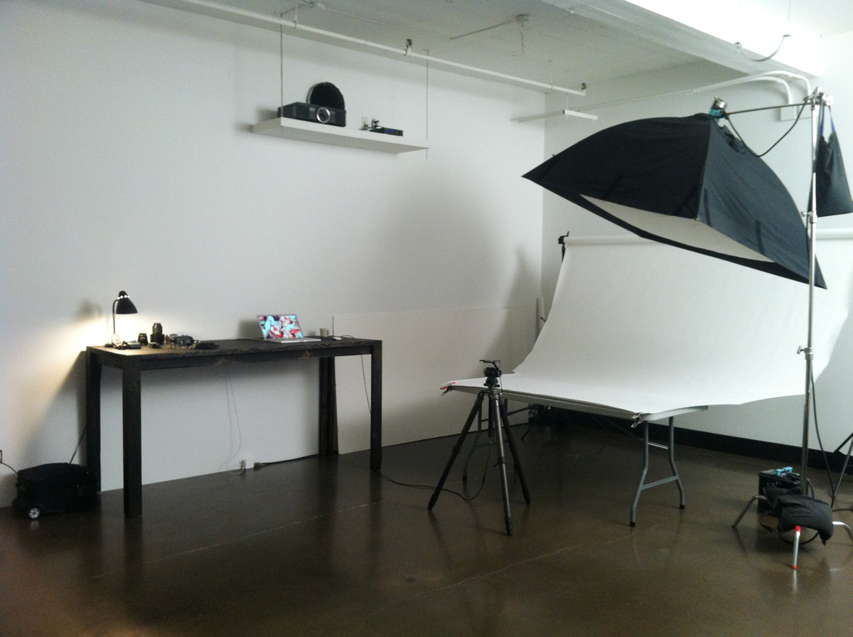 Table de studio photo